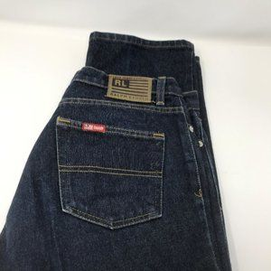 Ralph Lauren womens Mom jeans size 10 dark denim